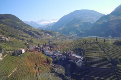 Above Bozen-Bolzano