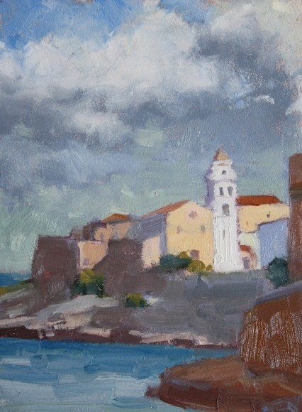Just After the Storm, Vieste, 6x8in