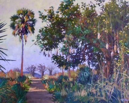 Mfuwe Trees 2 60x75cm