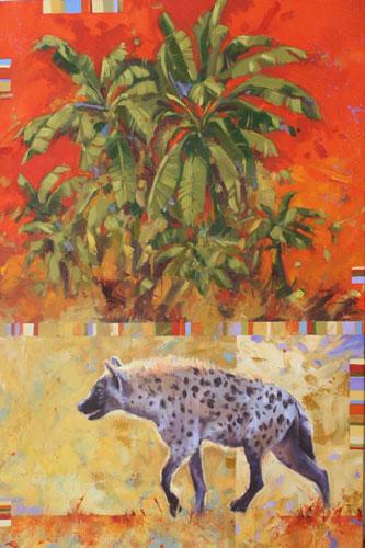 Hyaena & Banana Palms