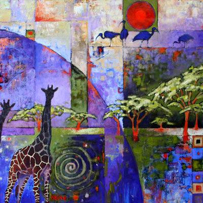 giraffe/ibis