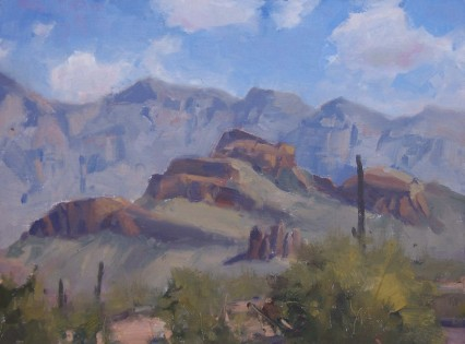 last day at Peralta (plein air)