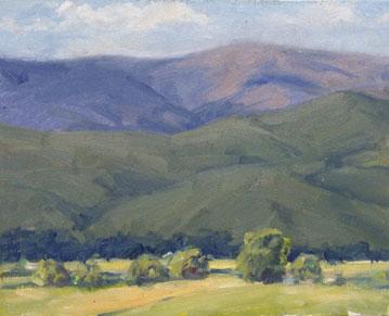 NM Hills (plein air)