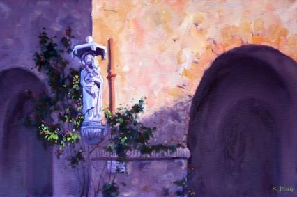 near Porta S. Maria, Lucca 60x40cm
