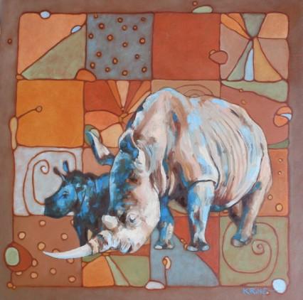 rhino quilt