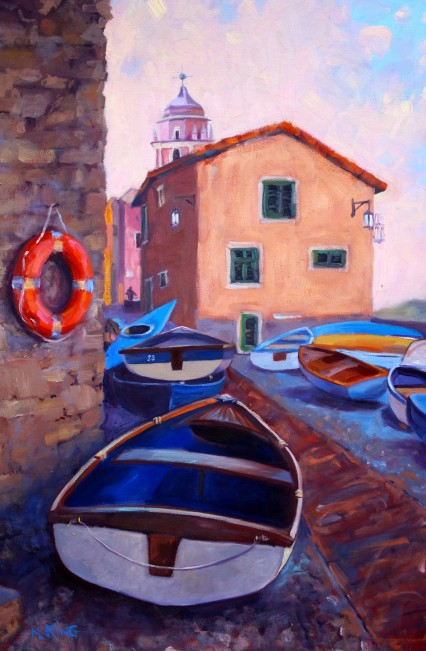 south of Cinque Terre #2 60x40cm