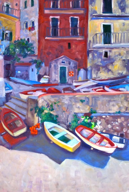 south of Cinque Terre 60x40cm