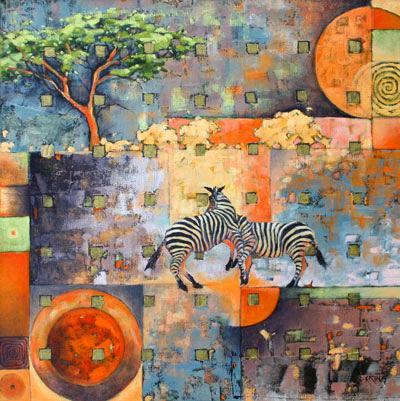 stormy zebras