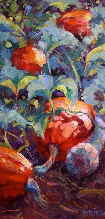Fausto's Pumpkins #2, 42x23cm