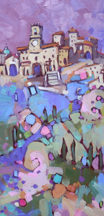 Jewel on the Hill #1, 45x20cm