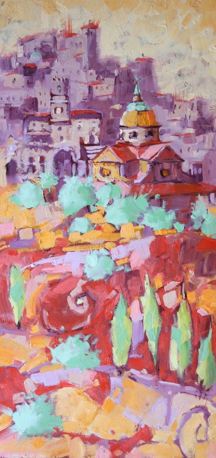 Jewel on the Hill, S.M. Nuova 45x20cm