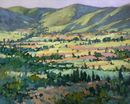 Hills of Memories, Cortona 40x50cm