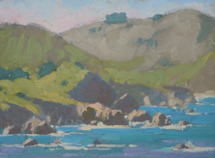Rocky Point Foschia 9x12in
