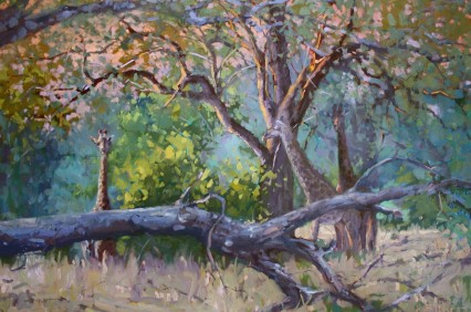 Magic Moment , Luangwa 60x90cm