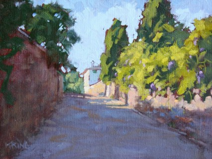 Wisteria Lane 9x12in