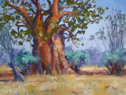 big baobab #2 12x16in