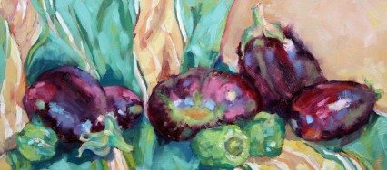 colorful supper 20x45cm