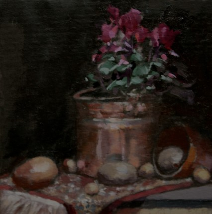 study for still life #2, 15x15cm