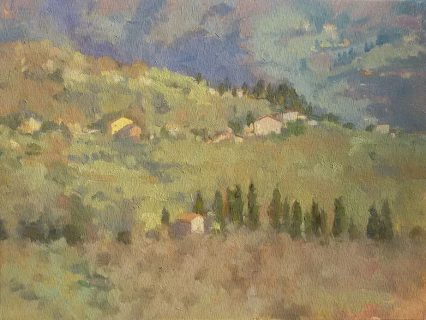 From S. Martino in Vignale, 30x40cm