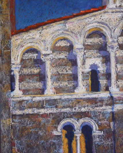 Church Facade 2, 25x20cm, $349