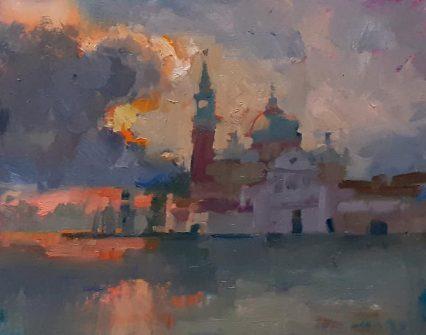Crescendo, Venice 20x25