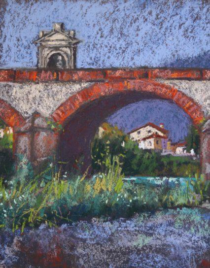 Ponte S. Quirico 2, 25x20cm, $349