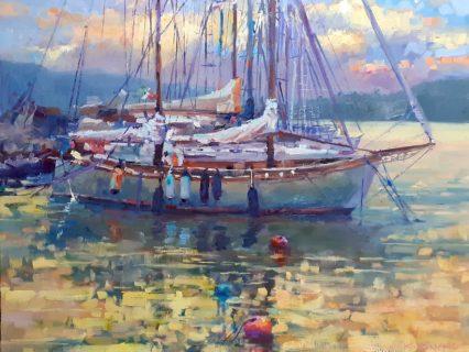 Portovenere Masts & Buoys 60x75