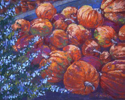 Pumpkins, 20x25cm, $349.