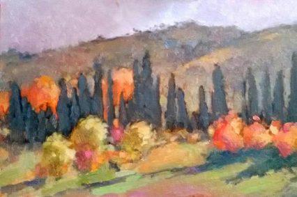 S. Lorenzo Landscape, 20x30cm,€350