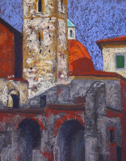 S.Agostino 25x20cm, $349