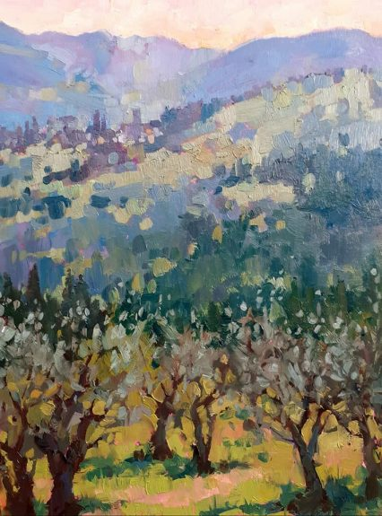 This Evening in the Hills 40x30