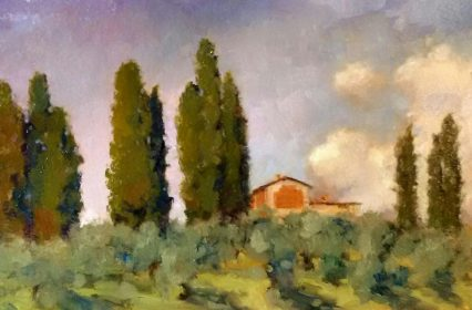 Today Above Mutigliano, 20x30 cm,€320