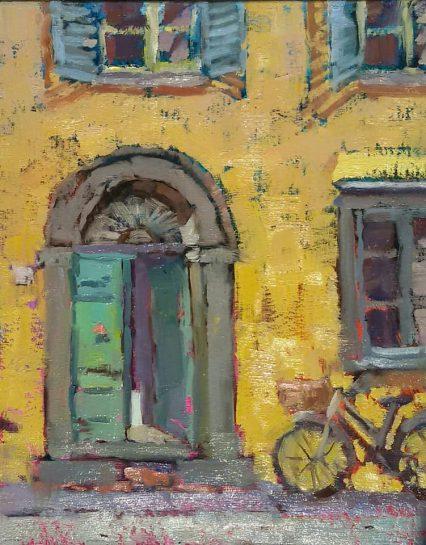 Door in Piazza S. Salvatore 25x20 cm