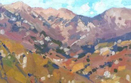 Montefegatesi Mountains 20x30 cm