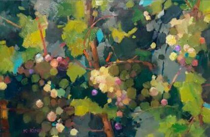 Overgrown Grapes #1 20x30 cm
