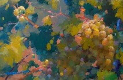 Overgrown Grapes #2 20x30 cm