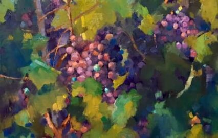 Overgrown Grapes #3, 20x30 cm