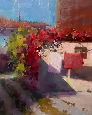 Fausto's Garage & My Laundry 25x20 cm