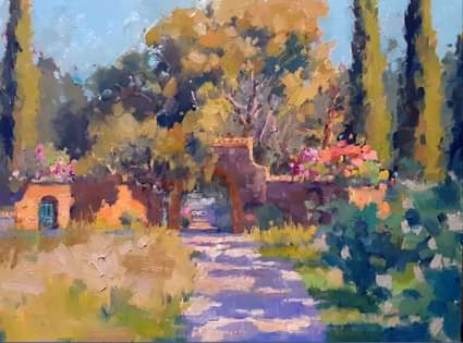 Gate in the Morianese #2, 30x40