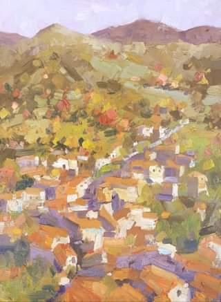 Montefegatesi Autumn, 40x30 cm