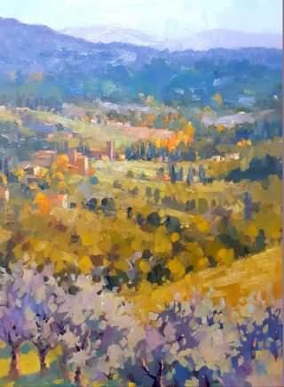 Over Mutigliano, 40x30 cm